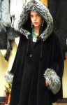 Alpaca Wool and Silver Fox Cape