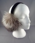 Grey Fox Earmuffs