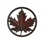 Rosewood Maple Leaf Trivet