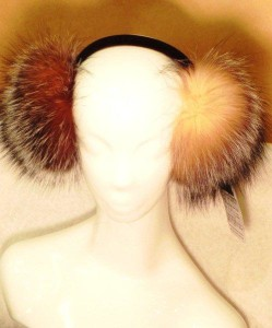 crystal fox earmuffs