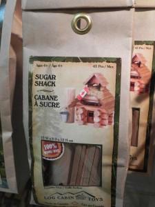 Sugar Shack Log Cabin: Fun Build-it-Yourself Toy